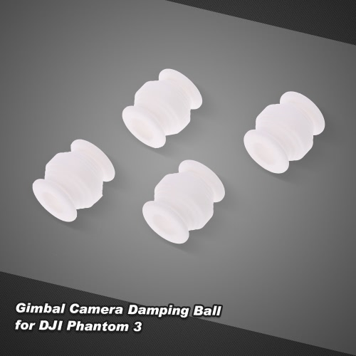 4pcs Gimbal Camera Damping Ball for DJI Phantom 3 Standard/Advanced/Professional FPV RC Quadcopter