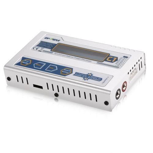 Buy EV-PEAK C1 50W 6A 1-6S DC11.0V-18.0V Balance Charger JST_XH Adapter Board T Plug Connector LiPo LiFe NiMH NiCd Pb Battery