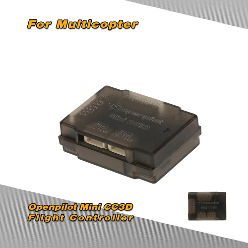 Openpilot Mini CC3D NANO Atom Flight Controller with Proctective Case for QAV250 Racing Drone RC Quadcopter от Tomtop.com INT