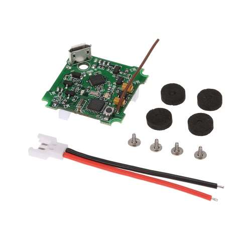 F3 Brushed Flight Controller Integrated 8CH Receiver Comaptible with Frsky X9D PLUS for Blade Inductrix BLH8700 BLH8580 E010 JJRC H36 Micro FPV Racing Quadcopter от Tomtop.com INT
