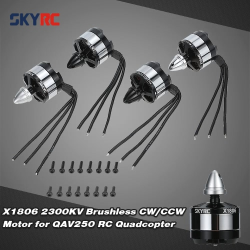 Buy Original SKYRC X1806 2300KV Brushless CW/CCW Motor QAV250 RC Quadcopter