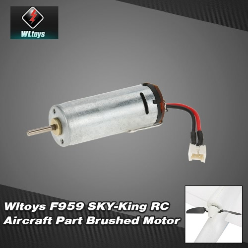 Original Wltoys F959 SKY-King RC Aircraft Part  F959-013 Brushed Motor от Tomtop.com INT