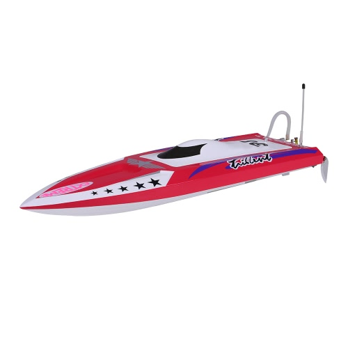 Buy Original NO.H640 Captain America Brushless 70km/h High Speed Racing RC Boat PNP Version Servo ESC Motor