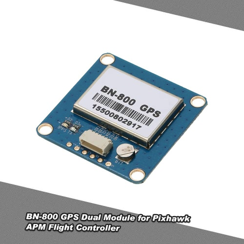 Buy Ublox NEO-M8N BN-800 GPS Dual Module Built-in Active Antenna Support GLONASS BeiDou Pixhawk APM Flight Controller