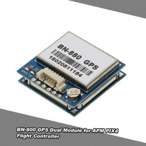 Buy Ublox NEO-M8N BN-880 Dual GPS Module External Active Antenna Support GLONASS APM PIX4 Flight Controller