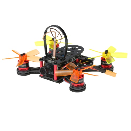 Buy FX100 100mm Micro FPV Racing Drone 5.8G 40CH 800TVL D1104 Brushless Motor RC Quadcopter Frsky Receiver F3 Flight Controller - BNF