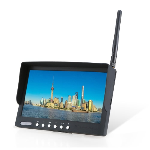 Buy LCD-RC800S 7 inch 5.8GHz 40CH Wireless Receiver LCD Monitor FPV RC Quadcopter Drone Airplane