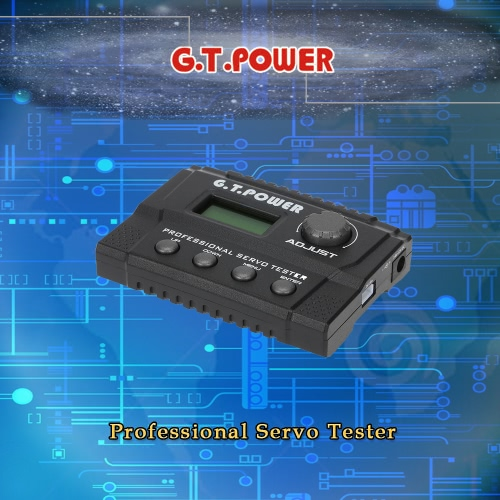 Buy G.T.POWER Professional Servo Tester RC Aircraft Helicopter Car