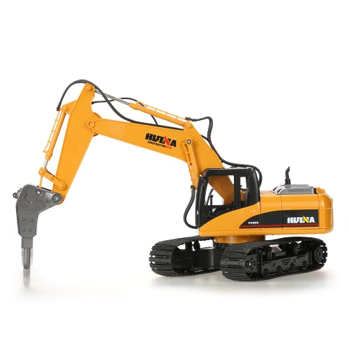 Buy HUI NA TOYS NO.1560 2.4G 16CH RC Excavator Broken Disassemble Truck Engineering Vehicle Toys
