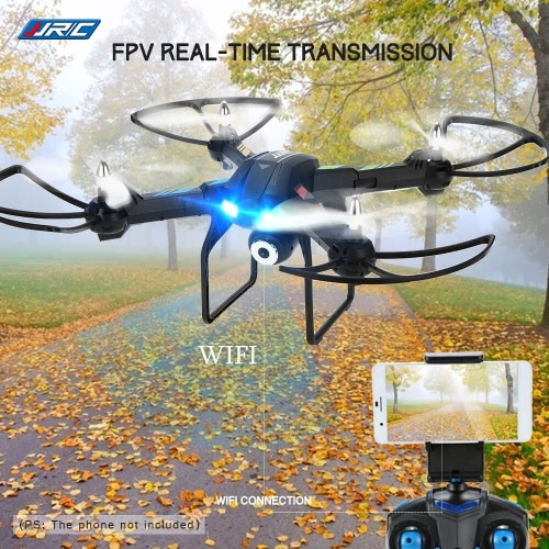 Buy JJRC H28W 2.4G 4CH 6-Axis Gyro WiFi FPV RC Quadcopter 0.3MP Camera One Axis Gimbal