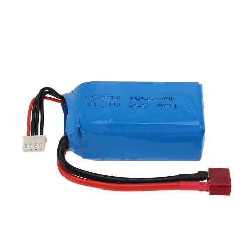 11.1v 1500mah 30c 3s T Plug Li-po Battery For Qav250 H250 200 240 260 280 F330 Rc Quadcopter