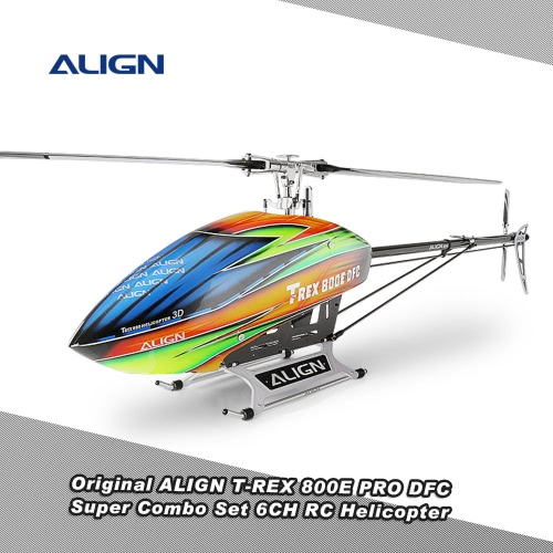 Buy Original ALIGN T-REX 800E PRO DFC Dominator Super Combo Set 6CH Flybarless System RC Helicopter