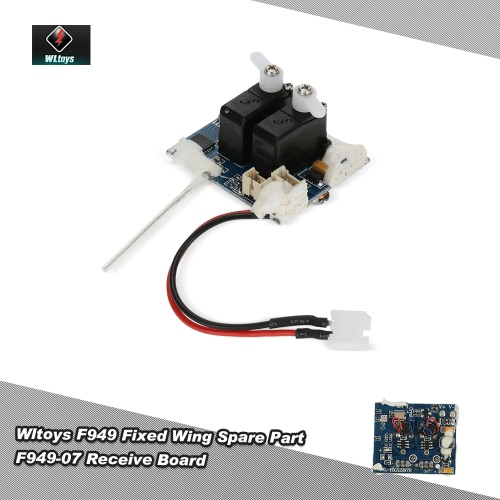 Original Wltoys RC Aircraft Spare Part F949-07 Receive Board for Wltoys F949 Fixed Wing RC Aircraft от Tomtop.com INT