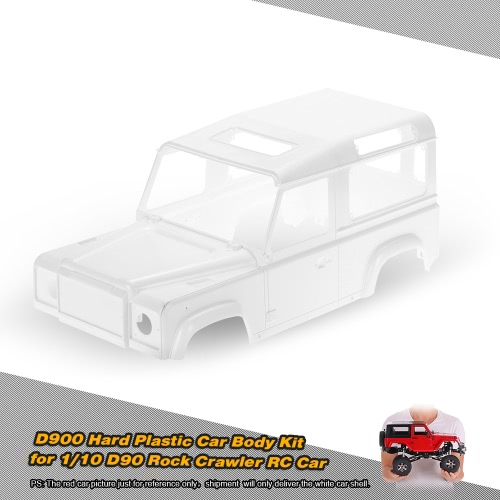 Buy D90 Hard Plastic Car Shell Body DIY Kit 1/10 Rock Crawler RC