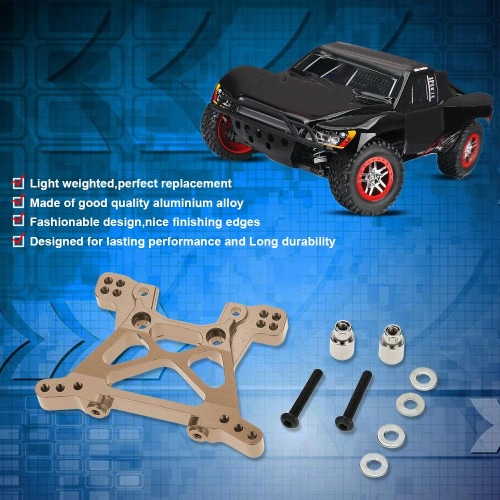 SLA009 Aluminum Alloy Front Shock Tower for 1/10 TRAXXAS SLASH 4x4 RC Car от Tomtop.com INT