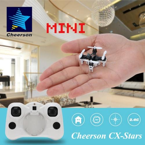 Buy Original Cheerson CX-Stars Mini 2.4G 4CH 6 Axis Gyro RC Quadcopter UFO Drone 3D Flips Headless Mode