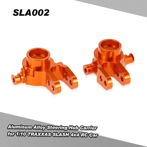 SLA002 Aluminum Alloy Steering Hub Carrier(L/R) for 1/10 TRAXXAS SLASH 4x4 RC Car