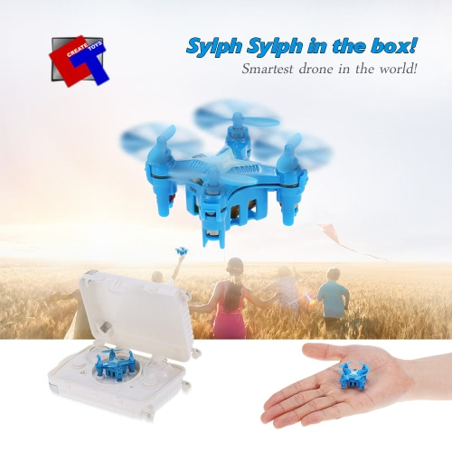 Buy Original Create Toys E904 2.4G 4CH 6 Axis Gyro Headless Mode 3D Flip Drone RC Quadcopter