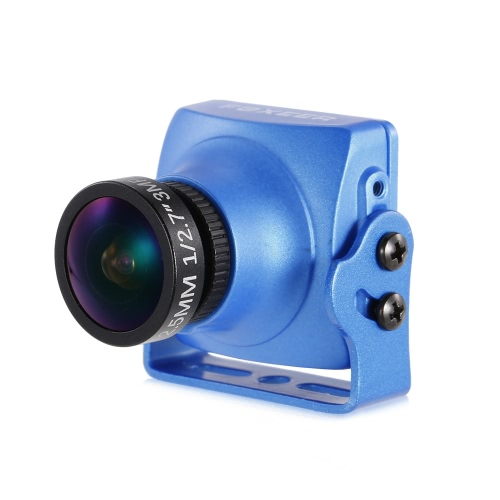 Buy FOXEER Arrow V3 HS1195 600TVL 2.5mm IR Block CCD Mini FPV Camera PAL Built-in OSD QAV250 180 Racing Drone Aerial Photography