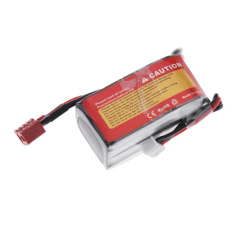 Wild Scorpion 11.1V 1100mAh 25C MAX 35C 3S T Plug Li-po Battery for RC Car Airplane Blade CP Helicopter Part от Tomtop.com INT