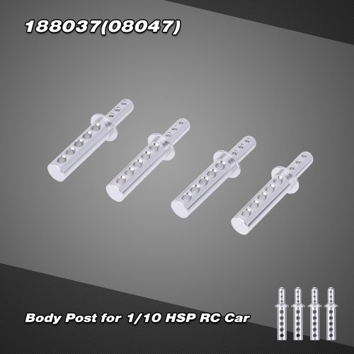 188037(08047) Upgrade Part Aluminum Body Post for 1/10 HSP 4WD Off-road Monster Truck Himoto Redcat от Tomtop.com INT