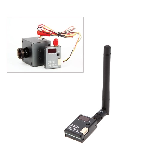 BOSCAM BOS600 5.8G 600mw 32CH Wireless Transmitter with M2 Fixed Socket for RC DJI Phantom 1 2 3 Gopro Camera HD19 Plus от Tomtop.com INT