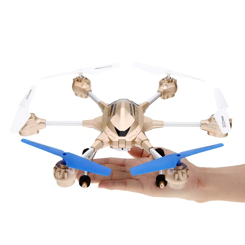 HUAJUN W609-9 4.5CH 2.4G with Six Axis Gyro RTF RC Super Alloy Hexacopter Drone(Middle Size)With 0.3MP Camera от Tomtop.com INT