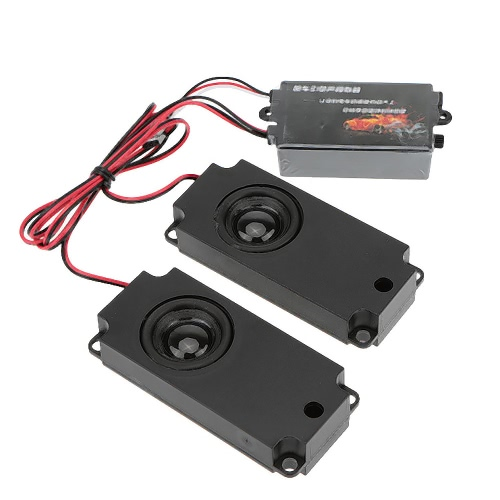 GoolRC  Second Generation Cool Throttle Linkage Groups Engine Sound Simulator With 2 Speakers for R/C Sports Car от Tomtop.com INT