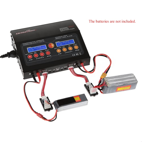 Ultra Power UP200AC DUO 2*200W 400W LiIo/LiPo/LiFe/NiMH/NiCD Battery Multi Balance Charger/Discharger от Tomtop.com INT