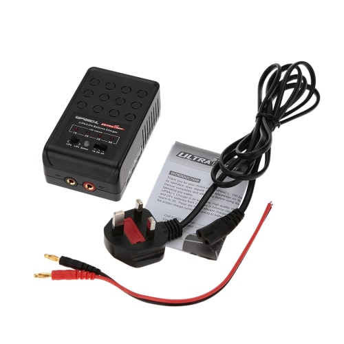 Ultra Power UP4AC-L 20W 2-4S LiPo/LiFe Battery Balance Charger от Tomtop.com INT