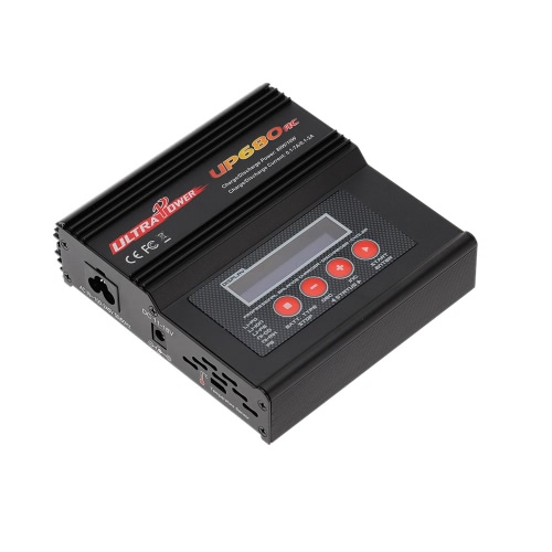 Ultra Power UP680AC 80W LiIo/LiPo/LiFe/NiMH/NiCD Battery Multi Balance Charger/Discharger от Tomtop.com INT