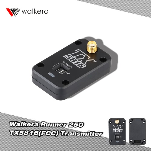 Original Walkera Runner 250-Z-20 TX5816(FCC) 5.8G 4CH Transmitter for Walkera Runner 250 RC Quadcopter от Tomtop.com INT
