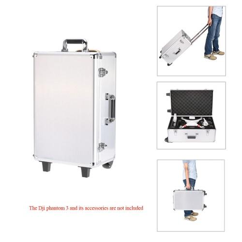 Buy Universal Outdoor Quadcopter Portable Suitcase Protective Hard Bag Trolley Case DJI Phantom 3