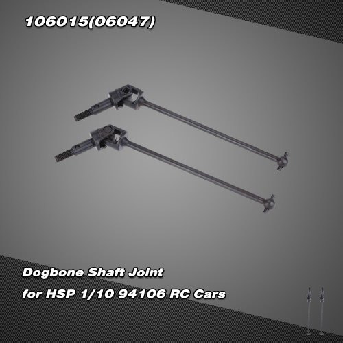 106015(06047) Upgrade Part Stainless Steel Dogbone Shaft Joint for  HSP 1/10 94106 Nitro Powered Off-Road Buggy