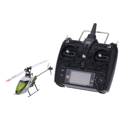 Buy Original XK Falcon K100 6CH 3D 6G System RTF RC Helicopter
