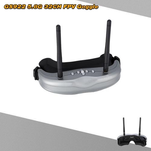 Original BOSCAM GS922 5.8G 32CH FPV Dual Diversity Binocular Video Goggle