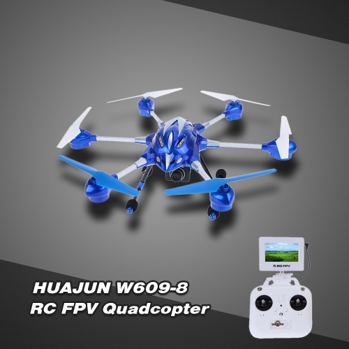 Buy HUAJUN W609-8 4.5CH Super Alloy Six Axis Gyro Hexacopter RTF RC FPV Quadcopter Drone 2.0MP HD Camera