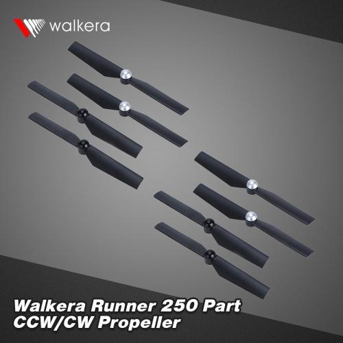 4 Pair Original Walkera Runner 250 FPV Quadcopter Parts CW/CCW Runner 250-Z-01 Propeller Set от Tomtop.com INT
