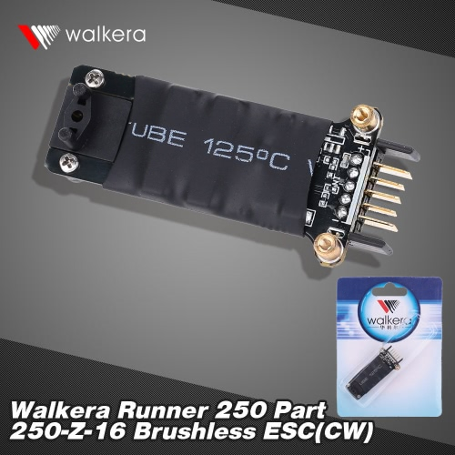 Original Walkera Runner 250 FPV Quadcopter Parts Brushless ESC(CW) Runner 250-Z-16 от Tomtop.com INT