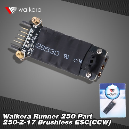 Original Walkera Runner 250 FPV Quadcopter Parts Brushless ESC(CCW) Runner 250-Z-17 от Tomtop.com INT
