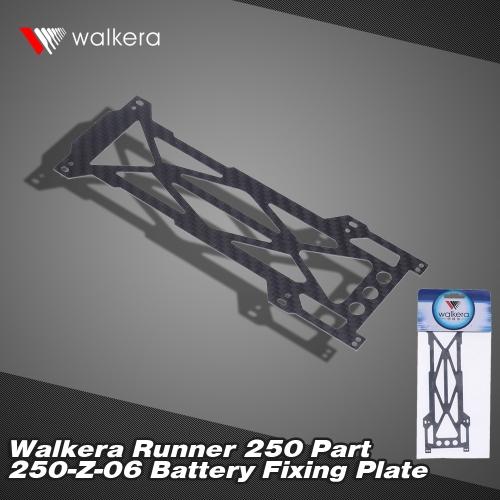 Original Walkera Runner 250 FPV Quadcopter Parts Runner 250-Z-06 Battery Fixed Plate от Tomtop.com INT