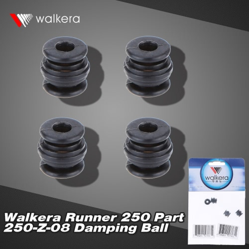 4Pcs Original Walkera Runner 250 FPV Quadcopter Parts Runner 250-Z-08 Damping Ball от Tomtop.com INT