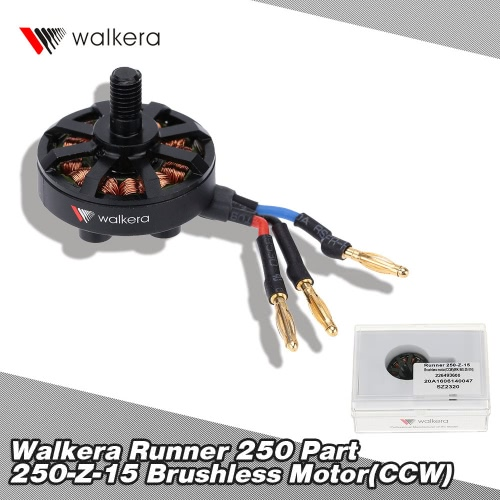 Original Walkera Runner 250 FPV Quadcopter Parts Runner 250-Z-15 Brushless Motor(CCW)(WK-WS-28-014) от Tomtop.com INT