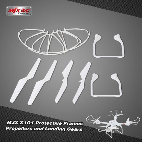 Buy Original MJX X101 Part Landing Gears Protective Frames Propellers RC Quadcopter