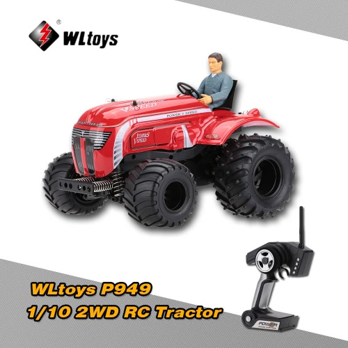 Buy Original WLtoys P949 1/10 2.4G Electric Two Wheel Drive 2WD RTR RC Tractor Truck