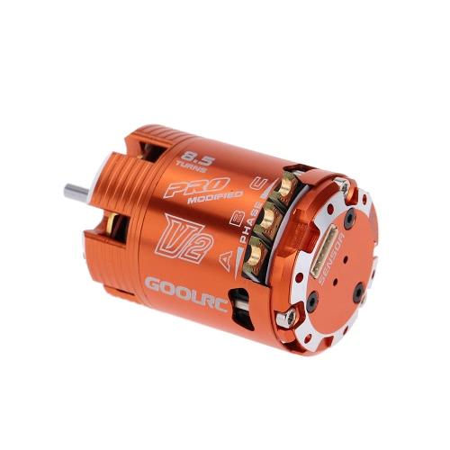 GoolRC 540 8.5T Sensored Brushless Motor for 1-10 On-road Drifting 1-10 Off-road Buggy