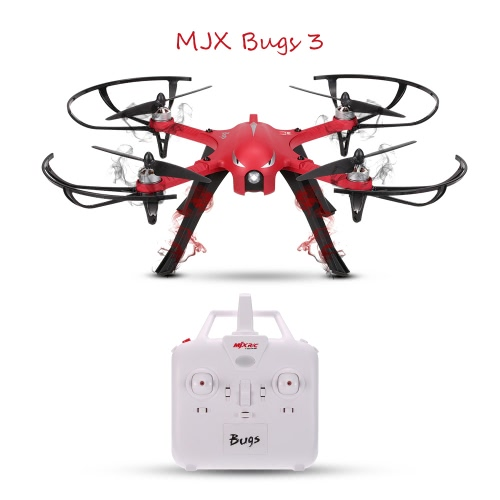 MJX Bugs 3 2.4G Gyro Brushless Motor Independent ESC Drone,limited offer $76.99