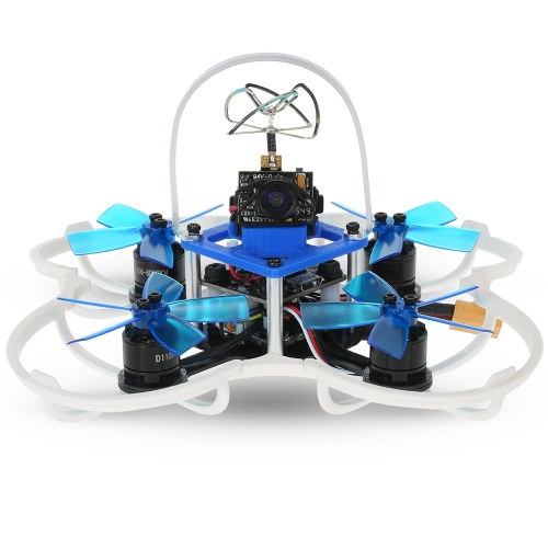 Buy GoolRC G85 85mm 5.8G 40CH 600TVL Micro FPV Racing Drone 1106 Brushless Motor RC Quadcopter Flysky Receiver F3 Flight Controller - BNF