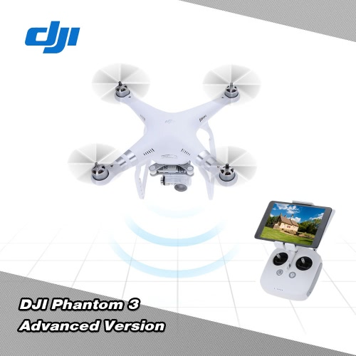 Buy Original DJI Phantom 3 Advanced Version FPV RC Quadcopter 1080p HD Camera Auto-takeoff/Auto-return home/Failsafe RTF Drone