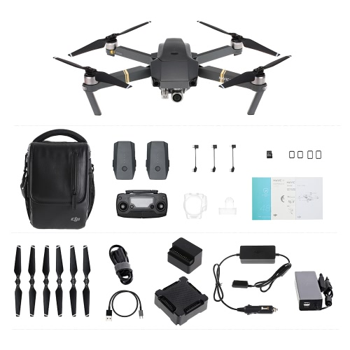 DJI Mavic Pro Foldable Obstacle Avoidance Drone FPV RC Quadcopter Fly More Combo от Tomtop.com INT